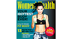 2017 Women's Health Mini Wall Calendar (DDMN85_17) (Item # DDMN85_17)