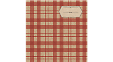 Plaid Calendar Gift Envelope (DDV002) (Item # DDV002)