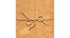 Twine Calendar Gift Envelope (DDV003) (Item # DDV003)
