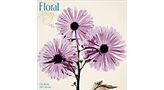 2017 Floral Xray Wall Calendar (DDW027_17) (Item # DDW027_17)
