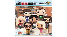 2017 FUNKO - The Big Bang Theory Wall Calendar (DDW108_17) (Item # DDW108_17)