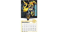 2017 TRANSFORMERS: Robots in Disguise Wall Calendar (DDW131_17) (Item # DDW131_17)