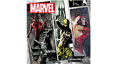 2017 Marvel Knights Wall Calendar (DDW138_17) (Item # DDW138_17)