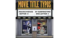 2017 Movie Title Typos Wall Calendar (DDW153_17) (Item # DDW153_17)