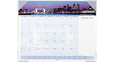 2016 Recycled Harbor Views Monthly Desk Pad (DMD145_16) (Item # DMD145_16)