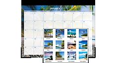 2017 Tropical Escape Desk Pad (DMDTE2_17) (Item # DMDTE2_17)