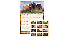 2017 Scenic Monthly Wall Calendar (DMW200_17) (Item # DMW200_17)