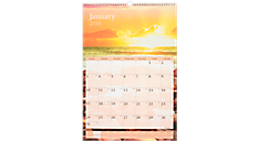 2016 Recycled Scenic Monthly Wall Calendar (DMW201_16) (Item # DMW201_16)