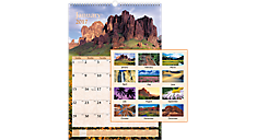 2017 Scenic Monthly Wall Calendar (DMW201_17) (Item # DMW201_17)