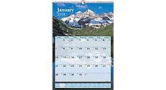 Scenic Monthly Wall Calendar (DMW201) (Item # DMW201)