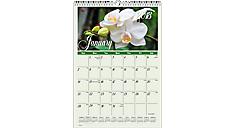 Flower Garden Monthly Wall Calendar (DMW300) (Item # DMW300)