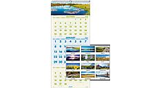 2017 Scenic 3-Month Wall Calendar (DMW503_17) (Item # DMW503_17)
