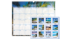 2017 Tropical Escape Wall Calendar (DMWTE8_17) (Item # DMWTE8_17)