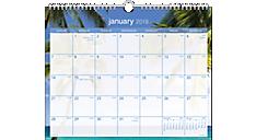 Tropical Escape Wall Calendar (DMWTE8) (Item # DMWTE8)
