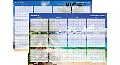 2016 Tropical Escape 2-Sided Horizontal Erasable Wall Calendar (DMWTEE_16) (Item # DMWTEE_16)
