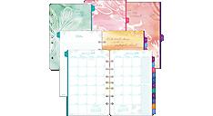 2017 Kathy Davis Seascapes 2-Page-Per-Month Planner Refill, Desk Size (DT72132_17) (Item # DT72132_17)