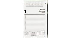 2016 Daily Pad Style Desk Calendar Refill (E45850_16) (Item # E45850_16)
