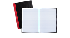 Ruled, Hardcover Business Notebook (E66857) (Item # E66857)