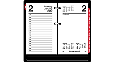 2017 Daily Desk Calendar Refill with Monthly Tabs (E717T50_17) (Item # E717T_17)