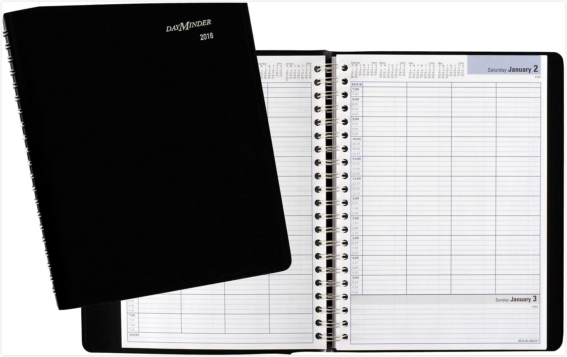 daily appointment book 2015