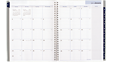 2016 Traditional Weekly/Monthly Appointment Book - Large (GC520_16) (Item # GC520_16)