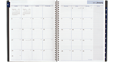 2016 Traditional Weekly/Monthly Executive Planner - Large (GC545_16) (Item # GC545_16)