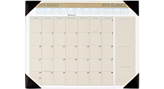 2016 Recycled Executive Monthly Desk Pad (HT1500_16) (Item # HT1500_16)