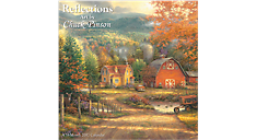 2017 Reflections - Art by Chuck Pinson Wall Calendar (HTH345_17) (Item # HTH345_17)