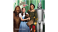 2017 The Wizard Of Oz Wall Calendar (HTH474_17) (Item # HTH474_17)
