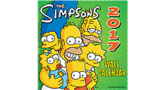 2017 The Simpsons Wall Calendar (HTH516_17) (Item # HTH516_17)