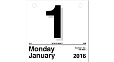 Today Is Daily Wall Calendar (K1) (Item # K1)