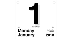 Today Is Daily Wall Calendar (K4) (Item # K4)
