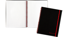 Ruled Business Notebook (K66652) (Item # K66652)