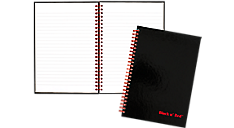 Ruled, Hardcover Business Notebook (L67000) (Item # L67000)