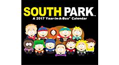 2017 South Park Year-In-A-Box Calendar (LMB116_17) (Item # LMB116_17)