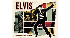 2017 Elvis Year-In-A-Box Calendar (LMB131_17) (Item # LMB131_17)