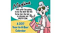 2017 Maxine Year-In-A-Box Calendar (LMB168_17) (Item # LMB168_17)
