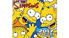 2017 The Simpsons Year-In-A-Box Calendar (LMB245_17) (Item # LMB245_17)