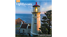 2017 Lighthouses Wall Calendar (LME161_17) (Item # LME161_17)