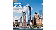 2017 National Landmarks Wall Calendr (LME164_17) (Item # LME164_17)