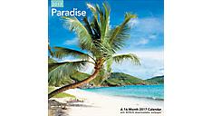2017 Paradise Wall Calendar (LME178_17) (Item # LME178_17)