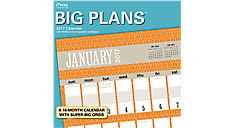 2017 Big Plans Wall Calendar (LME206_17) (Item # LME206_17)