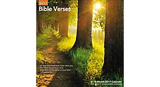 2017 Bible Verses Wall Calendar (LME211_17) (Item # LME211_17)