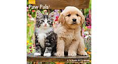 2017 Paw Pals Wall Calendar (LME226_17) (Item # LME226_17)