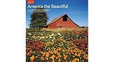 2017 America the Beautiful Wall Calendar (DDW327_17) (Item # LME327_17)