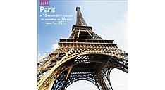 2017 Paris Bilingual (French-English) Wall Calendar (LMF313_17) (Item # LMF313_17)