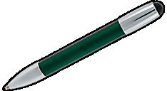 M1 Color Stylus Ballpoint Pen (MV2984) (Item # MV2984)