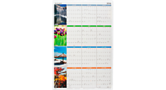 2016 Seasons in Bloom Erasable Wall Calendar (PA133_16) (Item # PA133_16)