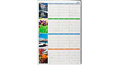 2016 Seasons in Bloom Erasable Wall Calendar (PA133_16) (Item # PA133_16)