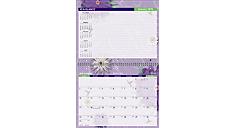 2016 Paper Flowers Desk/Wall Calendar (PF17_16) (Item # PF17_16)